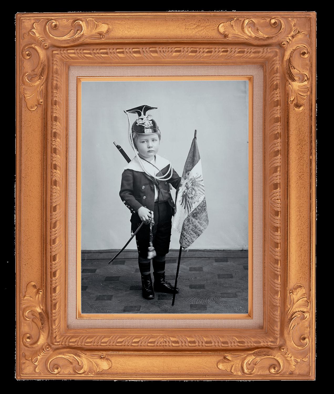 Viljandi viimane Ungern-Sternbergist mõisahärra Heinz (1900-1945) lapsena Viljandis